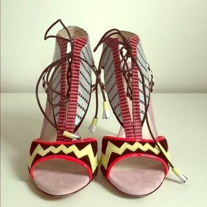 Sophia Webster colorful high heel sandals